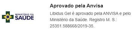 Libidus Gel Anvisa