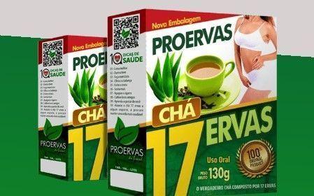 Chá 17 ervas amostra grátis