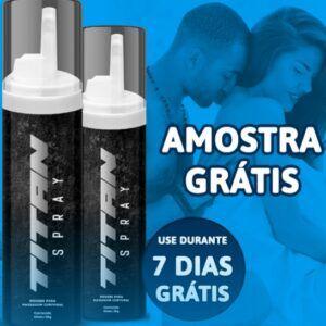Titan Spray Amostra Grátis [Aprenda a Solicitar Titan Spray De Graça]