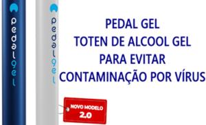 Pedal Gel – Toten de Álcool Gel | Qual o valor? Onde Comprar?